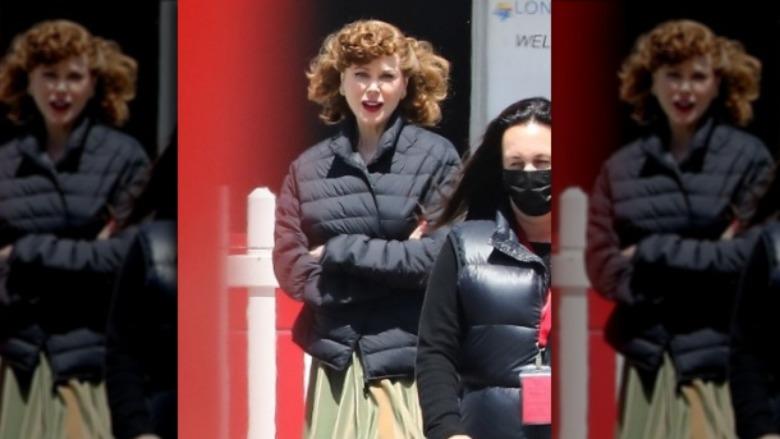 al lado de Nicole Kidman y Lucille Ball