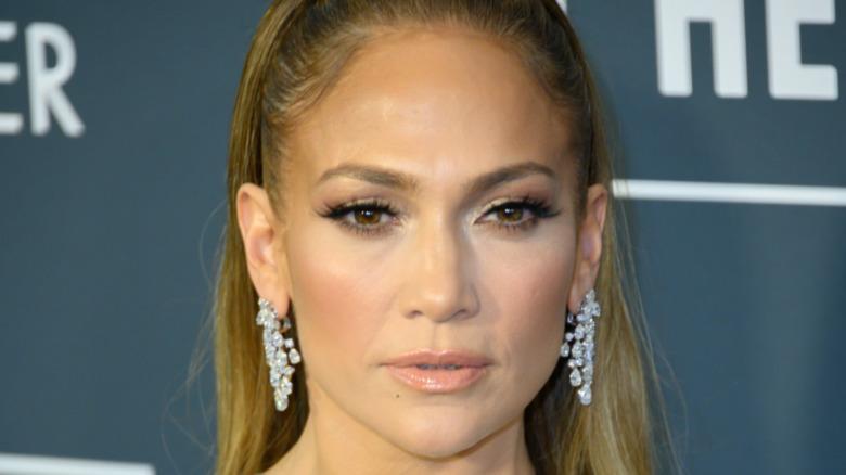 Jennifer Lopez en enero de 2020