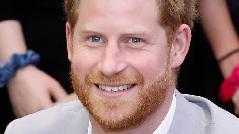 Príncipe Harry dientes