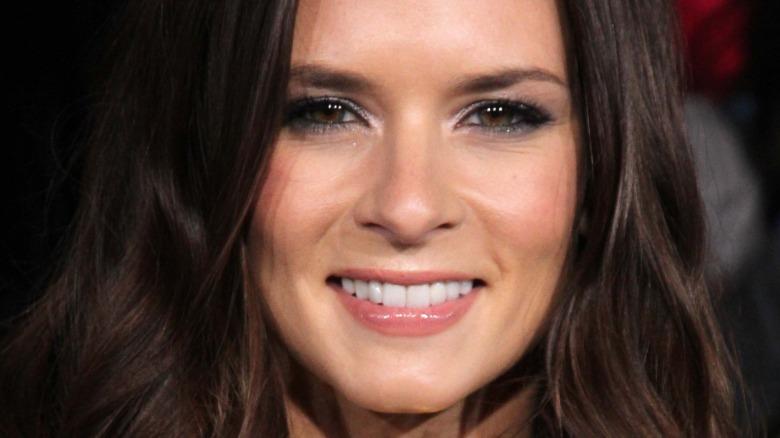 Danica Patrick sonriendo