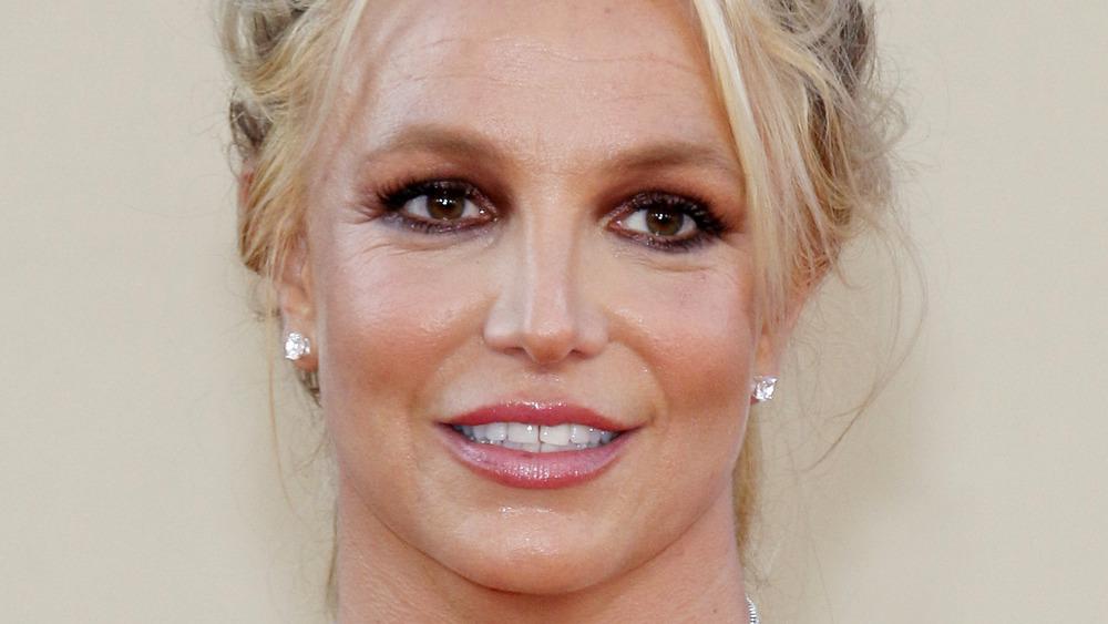 Pendientes de diamantes de Britney Spears