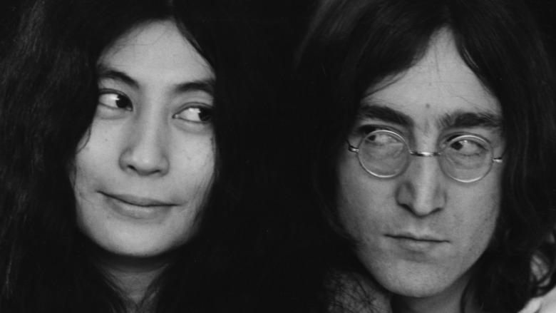 John Lennon y Yoko Ono juntos