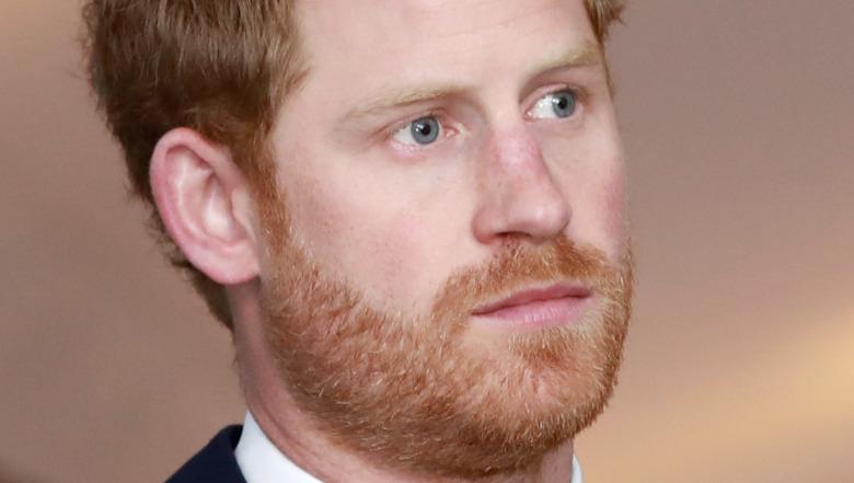 Barba del príncipe Harry