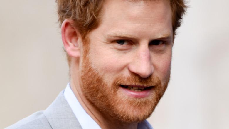 Príncipe Harry, posando