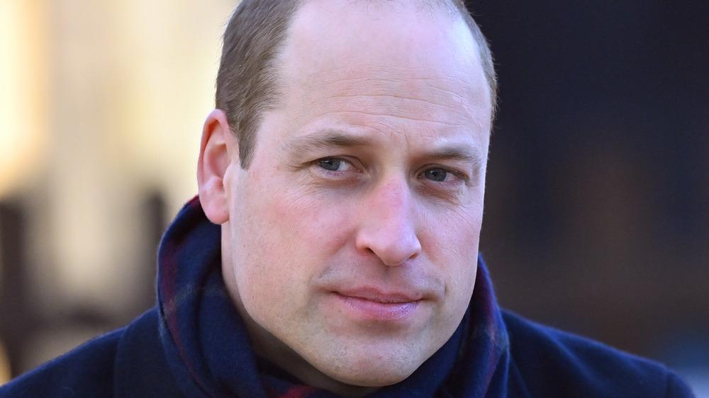Príncipe William posando