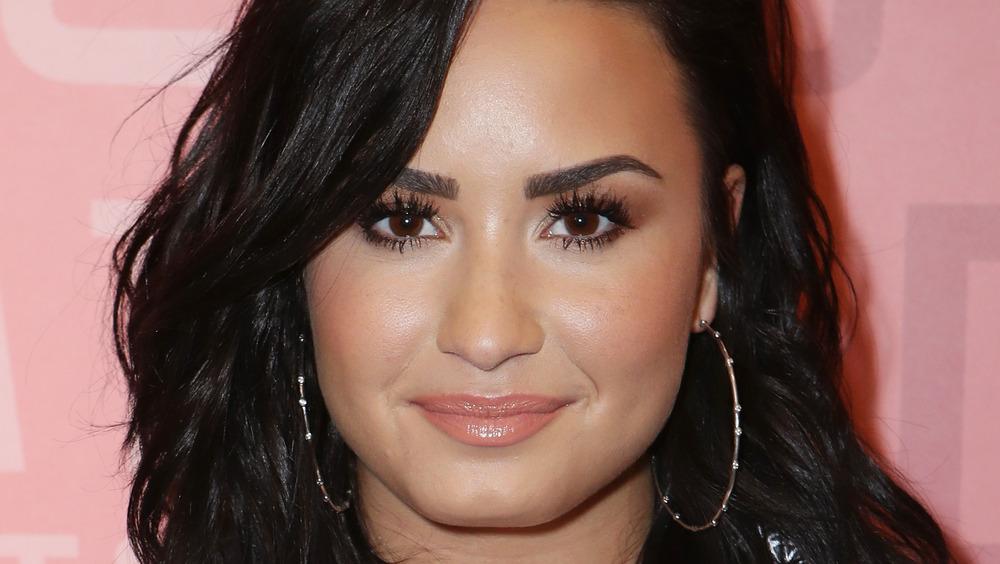 Demi Lovato en un evento
