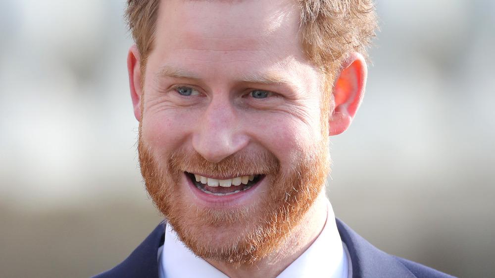 Príncipe Harry riendo