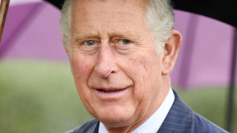 Príncipe Carlos sonriendo