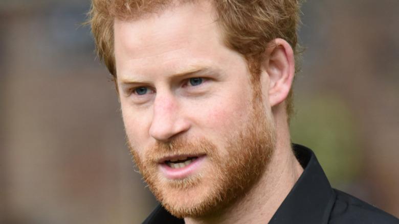 Príncipe Harry en un evento