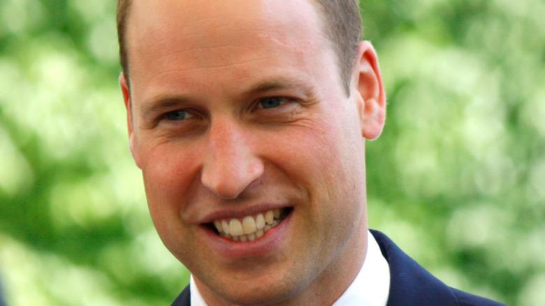 Príncipe William, sonriendo