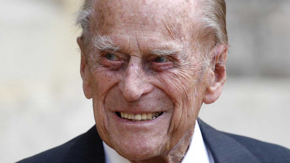 Príncipe Felipe, sonriendo
