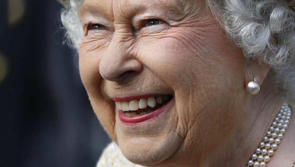 Reina Isabel en el evento