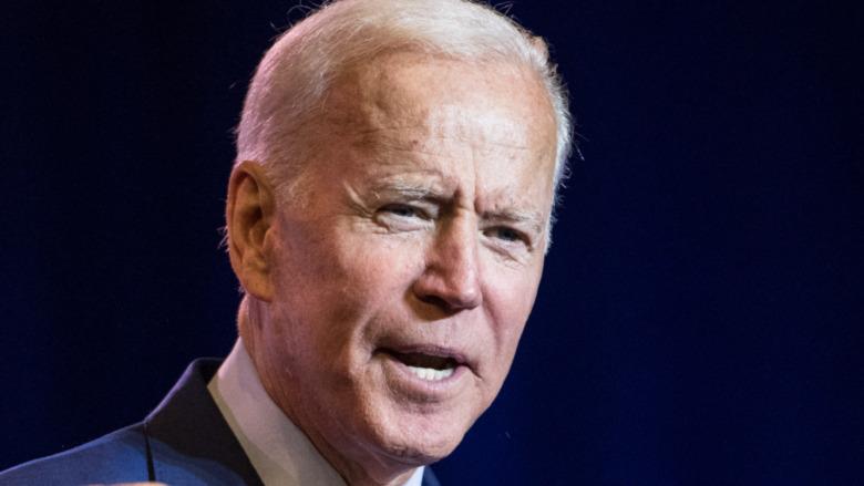 Joe Biden después de ganar las elecciones de 2020