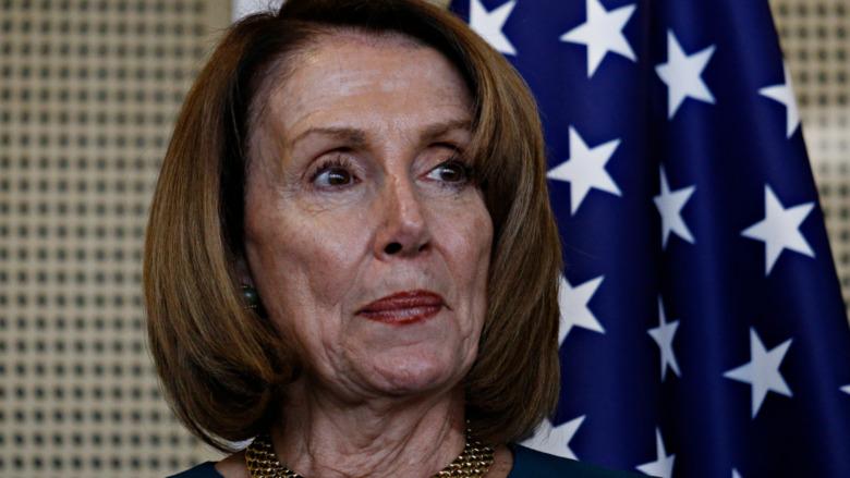 Nancy Pelosi en el Congreso
