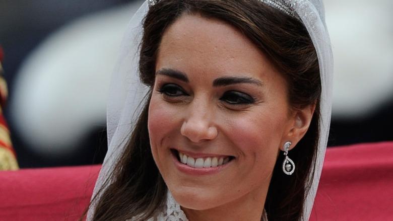 Kate Middleton sonriendo