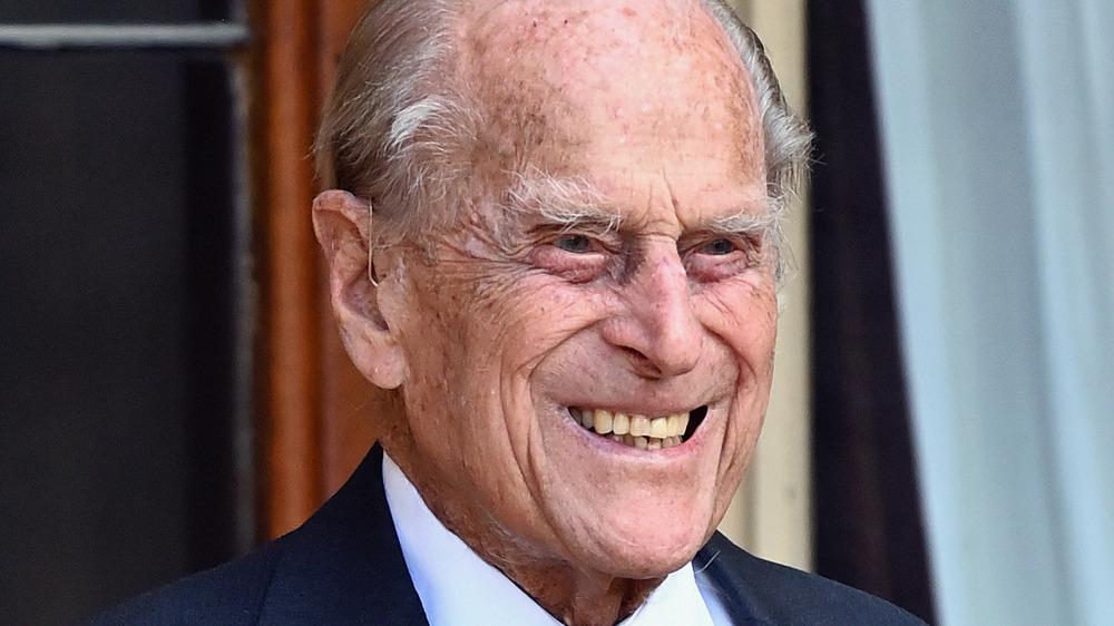 Príncipe Felipe sonriendo