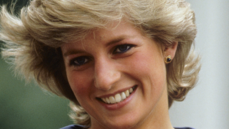 Princesa Diana sonriendo