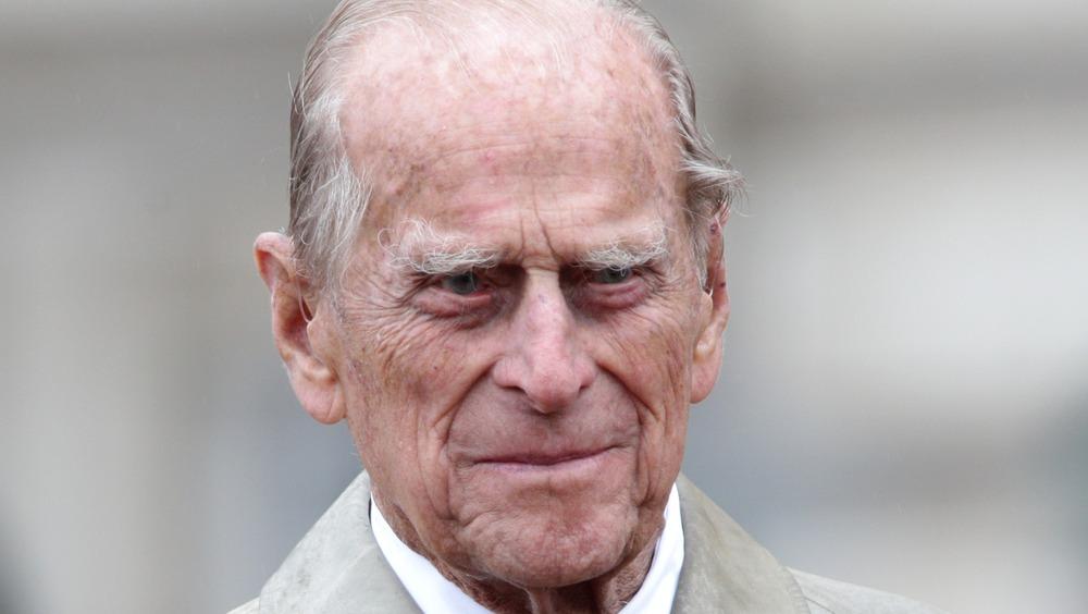Desfile del Príncipe Felipe en el Palacio de Buckingham