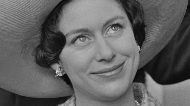 Princess Margaret sonriendo en un evento real