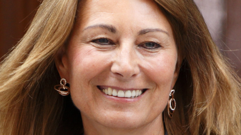 Carole Middleton sonriendo
