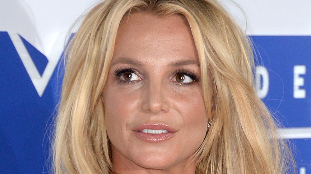 Britney Spears, posando