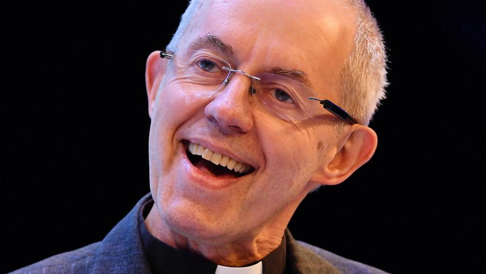 Arzobispo de Canterbury Justin Welby sonriendo