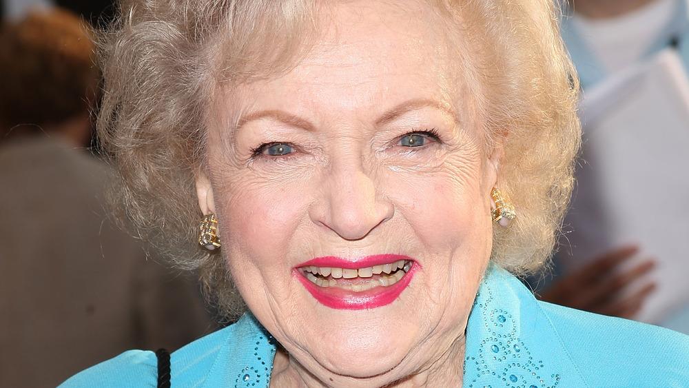 Betty White, la alfombra roja del estreno de The Proposal