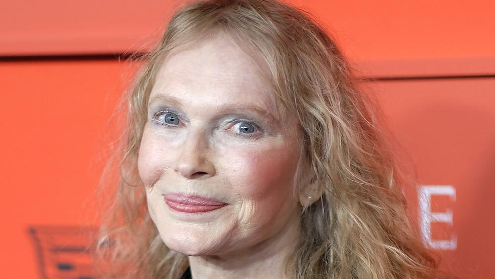 Mia Farrow en la alfombra roja de TIME 100 2019
