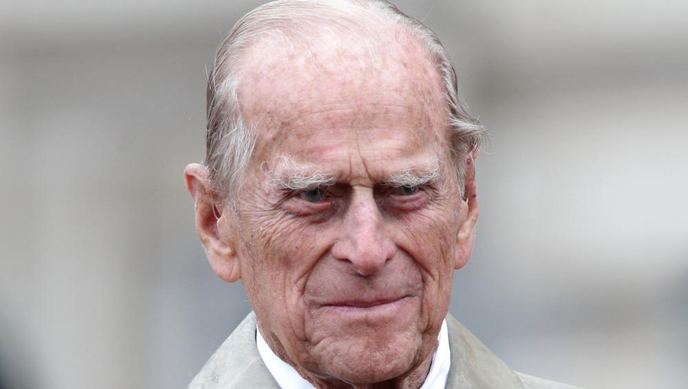 El príncipe Felipe posa