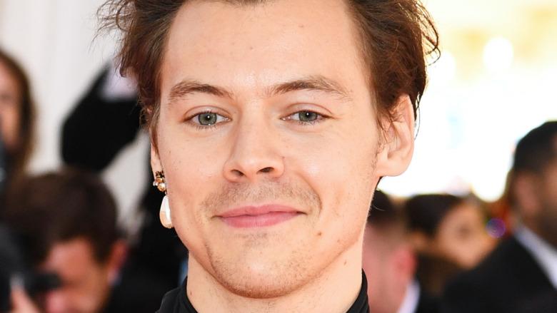 Harry Styles sonriendo