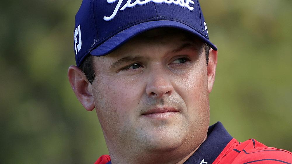 Patrick Reed en el torneo de golf