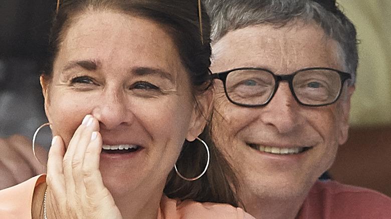 Bill y Melinda Gates en un evento