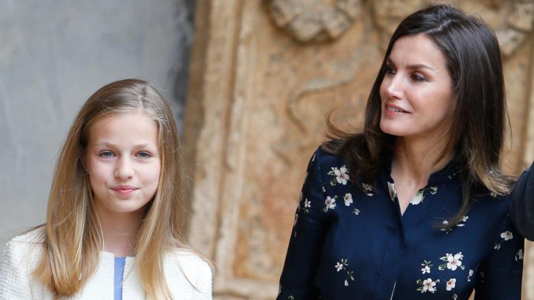 La Princesa Leonor y la Reina Letizia asistieron a un evento 2019