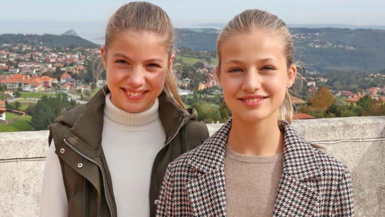 Princesa Leonor y Princesa Sofia 2014