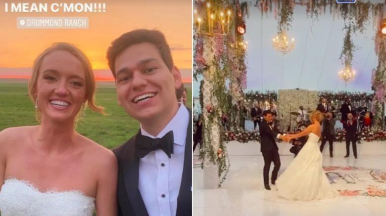 Historias de bodas de Instagram de Paige Drummond