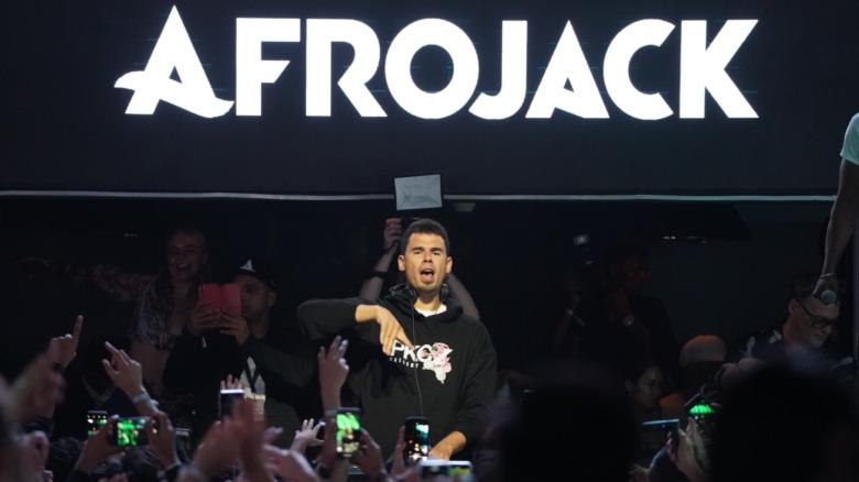 Actuación de Afrojack