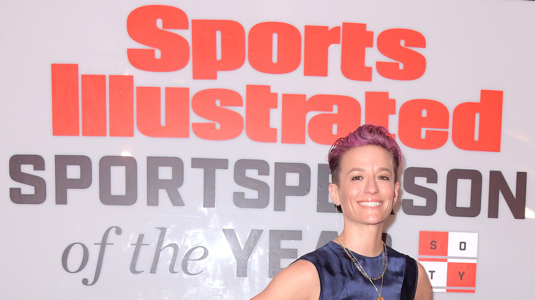 Anuncio de Megan Rapinoe Sports Illustrated