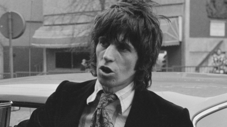 Keith Richards joven