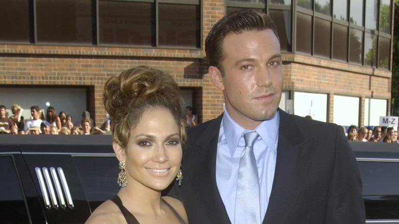 Jennifer Lopez y Ben Affleck en la alfombra roja
