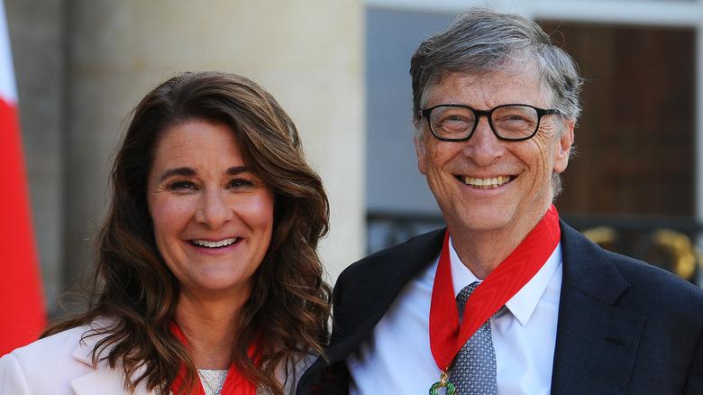 Bill y Melinda Gates sonriendo