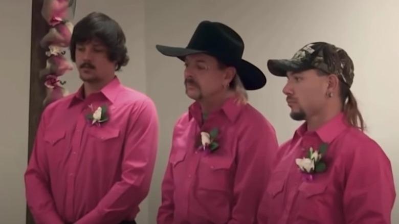 Travis Maldonado, Joe Exotic, John Finlay, casarse