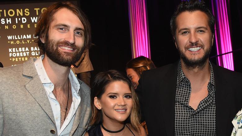 Ryan Hurd, Maren Morris y Luke Bryan en Nashville