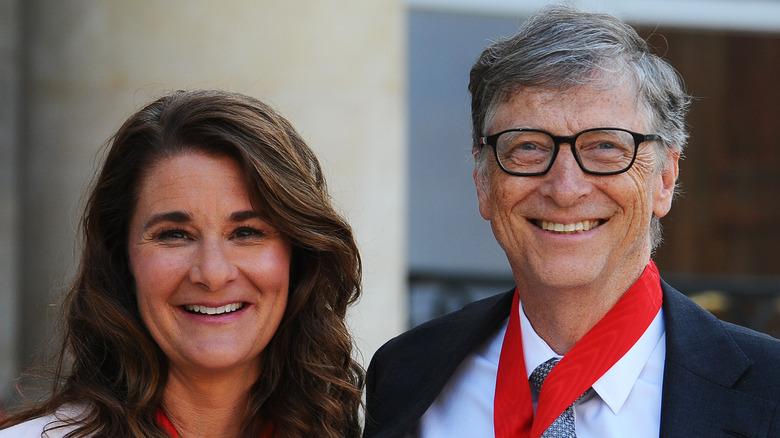 Melinda y Bill Gates sonriendo