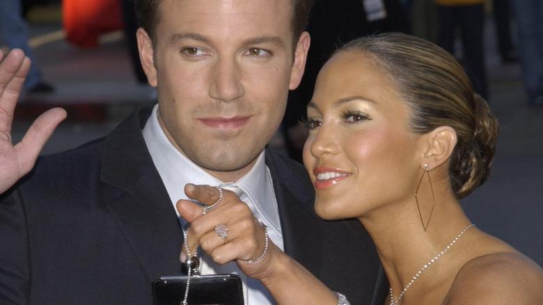 Jennifer Lopez con Ben Affleck