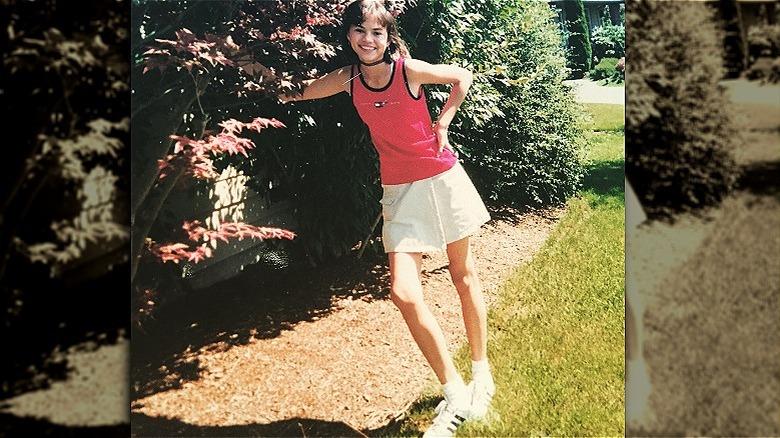 Chrissy Teigen como adolescente