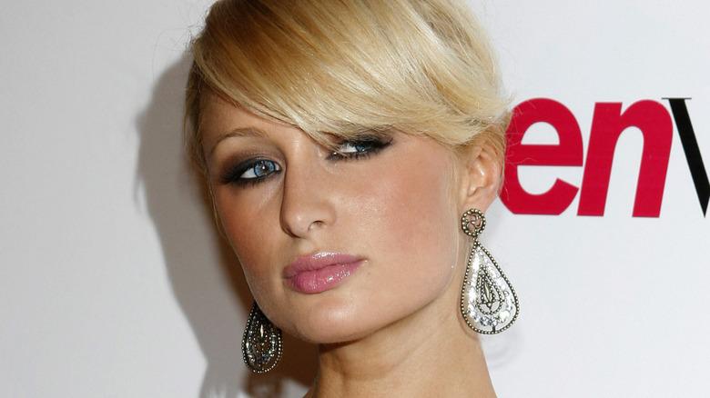 Paris Hilton en una fiesta de Teen Vogue