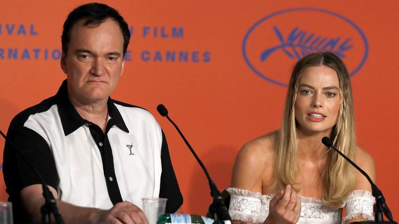 Quentin Tarantino y Margot Robbie