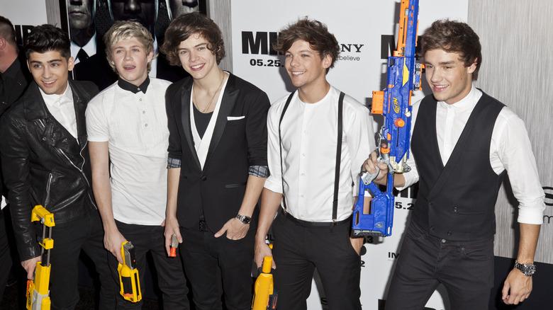 One Direction en el estreno de Men in Black 3