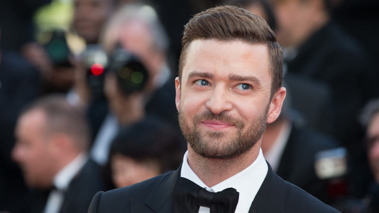 Justin Timberlake sonriendo