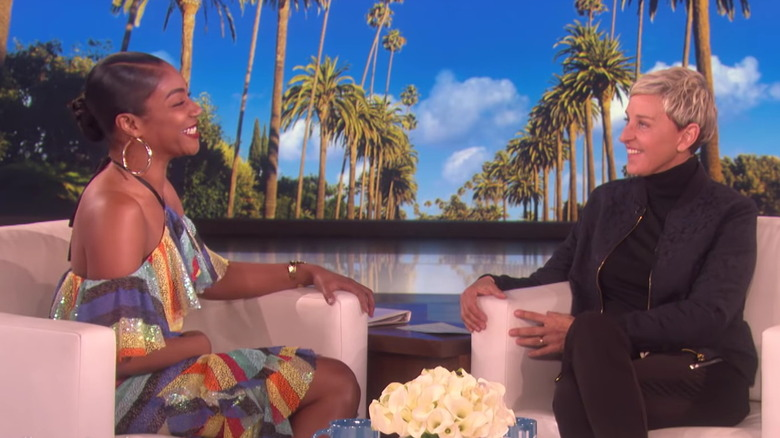 Tiffany Haddish en el programa de Ellen DeGeneres